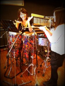 Hisashi Kondo Dokutsubo (2011.10.12) — 1309 It's Sakura-san on Percussion. 2011.10.12-Dokutsubo-2-225x300