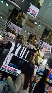 YUI Diary (2011.11.10) — CD Stores-san. 2011.11.10-YUI-Diary-2