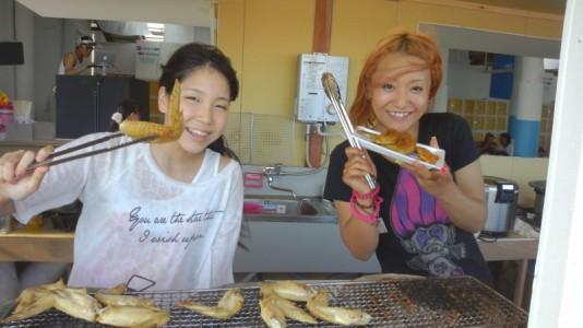 Takaco Inoue's blog (2012.07.17) — YUI at the Beach! 2012.07.17-Takaco-Inoue-01-534x300